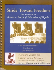 Picture of Stride Toward Freedom: The Aftermath of Brown v. Board of Education of Topeka (NH133Print)
