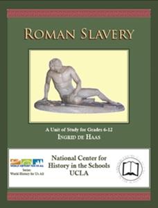 Picture of Roman Slavery, 100 BCE - 450 CE (NH194Print)