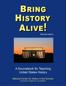 Picture of Bring History Alive!..A Sourcebook for Teaching U.S. History (NH148Print)
