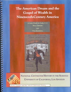 Picture of The American Dream and the Gospel of Wealth in 19th-Century American Society: E-BOOK (NH127E)