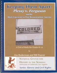 Picture of Keeping Them Apart: Plessy v. Ferguson and the Black Experience in America: E-BOOK (NH128E)