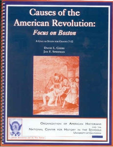 Picture of Causes of the American Revolution: Focus on Boston: E-BOOK (NH150E)