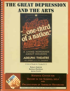 Picture of The Great Depression and the Arts: E-BOOK (NH151E)