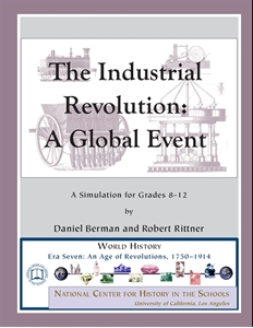 Picture of The Industrial Revolution: A Global Event, A Simulation for Grades 8-12: E-BOOK (NH153E)