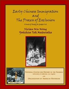 Picture of Early Chinese Immigration and the Process of Exclusion: E-BOOK (NH164E)