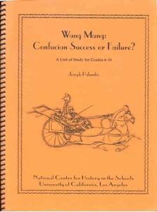 Picture of Wang Mang: Confucian Success or Failure?: E-BOOK (NH106E)