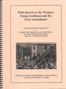 Picture of With Speech as My Weapon, Emma Goldman and the First Amendment: E-BOOK (NH149E)