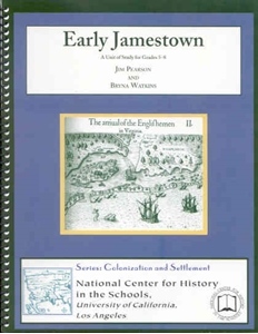 Picture of Early Jamestown: CLASSROOM LICENSE (NH116E)