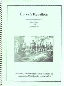 Picture of Bacon's Rebellion: CLASSROOM LICENSE (NH118E)
