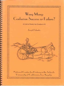 Picture of Wang Mang: Confucian Success or Failure?: CLASSROOM LICENSE (NH106E)