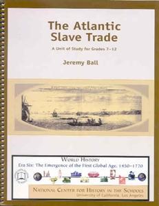 Picture of The Atlantic Slave Trade: CLASSROOM LICENSE (NH175E)