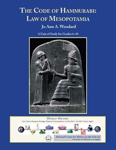 Picture of The Code of Hammurabi: Law of Mesopotamia: CLASSROOM LICENSE (NH102E)