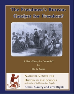 Picture of The Freedmen's Bureau: Catalyst for Freedom?: E-BOOK (NH159E)