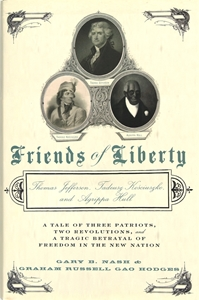 Picture of Friends of Liberty: Thomas Jefferson, Tadeusz Kosciuszko, and Agrippa Hull (NH195Print)